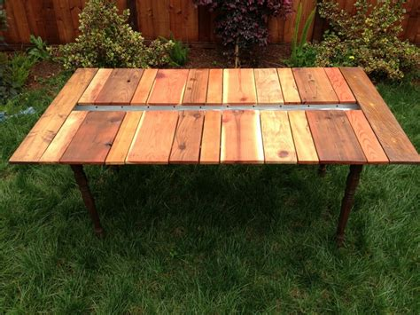 Diy Wood Picnic Tables Local Diy Reclaimed Wood Picnic Table With Planter Your
