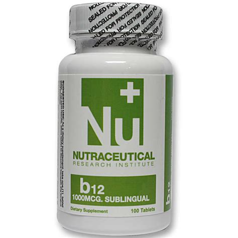 Suplemen Neutracetical Nutraceutical Research Institute Vitamin B12 Sublingual