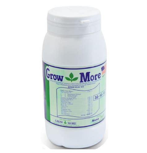 Pupuk Growmore Daun pupuk growmore 32 10 10 454 gram jual tanaman hias