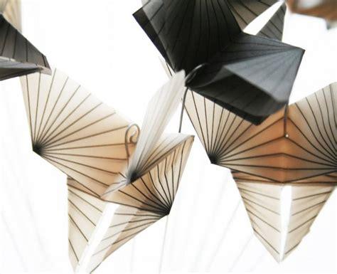 Translucent Origami Paper - geometric butterflies bouquet translucent origami