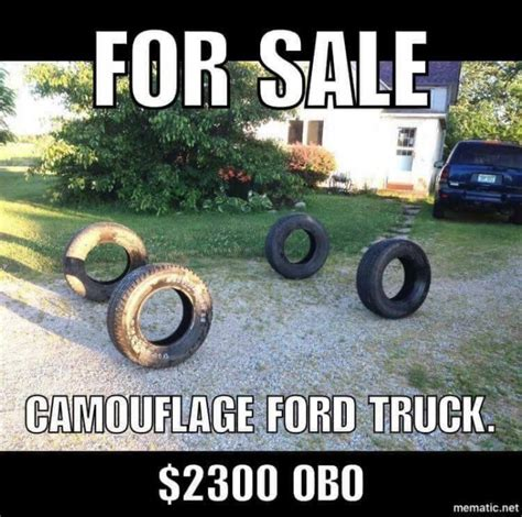 Funny Truck Memes - for sale camouflage ford truck meme http jokideo com