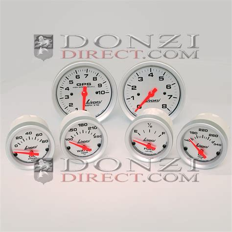 donzi boat gauges livorsi mechanical vacuum boost mega race series 2 1