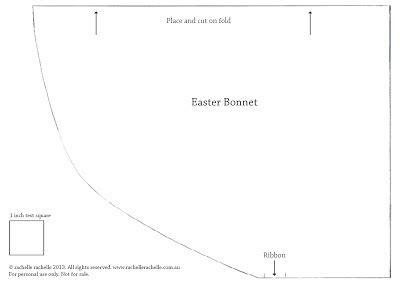 Easter Bonnet Printable Templates by Shop Contemporary Handmade Diy Easter Bonnet