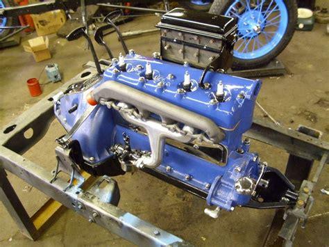 model  ford forum painted engine blocks