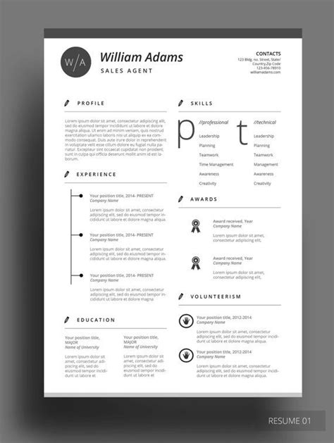 17 Best Images About Resume Templates On Pinterest Keep Going Cover Letter Template And Cv Design Truly Free Resume Templates