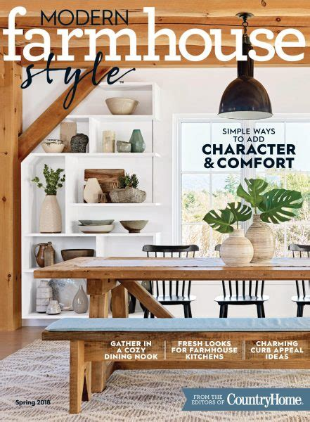 modern farmhouse magazine modern farmhouse style january 2018 pdf download free