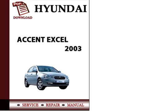 small engine repair manuals free download 1998 hyundai sonata parking system 2003 hyundai accent repair manual free
