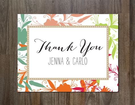 thank you card picture template the best thank you cards template designs