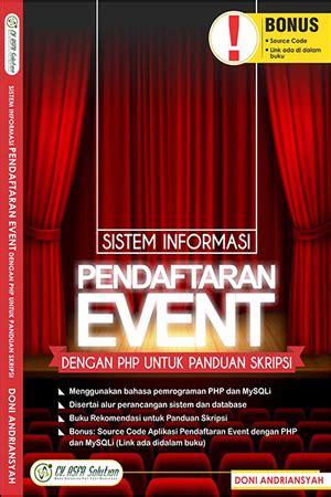 Sistem Sosial Indonesia Rp 40 000 jual buku sistem informasi pendaftaran event dengan php untuk panduan skripsi toko buku diskon