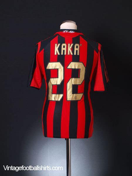 Ordinal Ac Milan 06 2005 06 ac milan home shirt kaka 22 m for sale