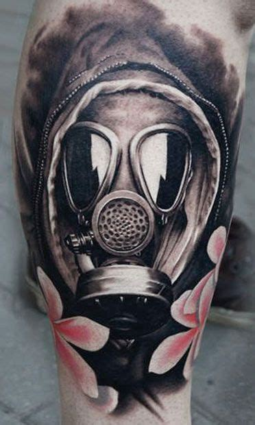 tattoo nightmares gas mask tattoo artist a d pancho mask tattoo make it a little