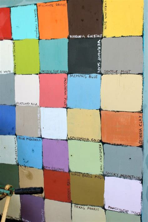 chalk paint lowes colors chalkboard paint in every color painting