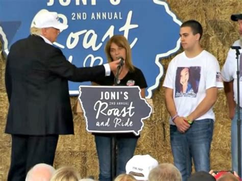 mom of sarah root murdered by illegal alien joins donald