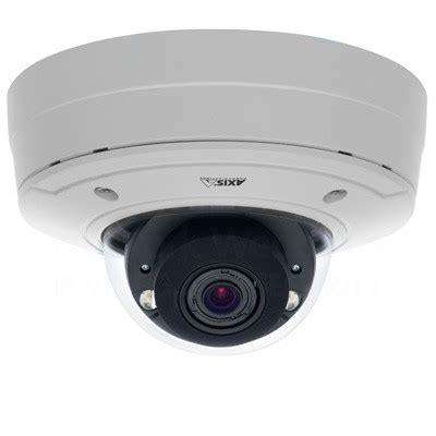 axis p3364 lve outdoor ip camera with built in ir leds