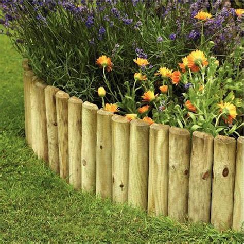 garden ideas with wood 10 garden edging ideas with wood for an earthy garden