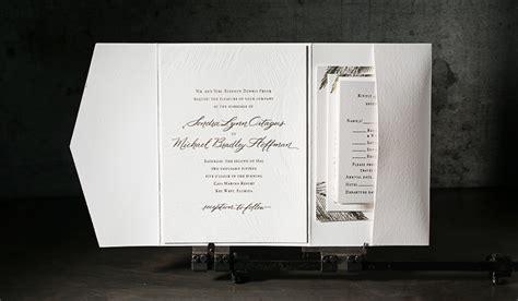custom foil sted wedding invitations custom gold foil sted wedding invitations