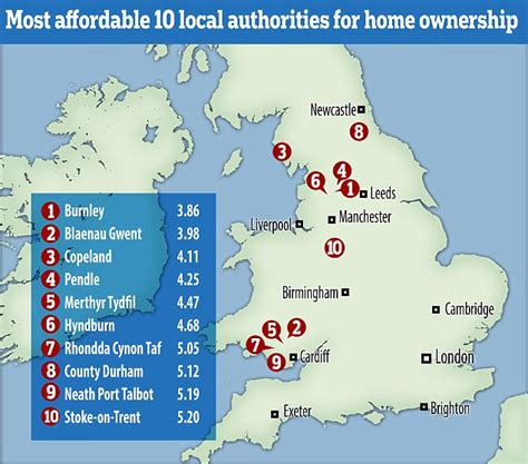 the 15 most affordable beach towns to buy a vacation home revealed the most and least affordable places in the uk