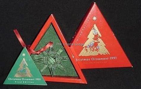 swarovski swarovski 1991 christmas ornament europe
