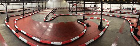 thames barrier go karting see our new spring loaded karting track barrier system