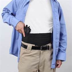 belly band holster ambidextrous concealed elastic belly band holster we like shooting