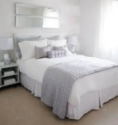 Silver White Bedroom - love of interiors grey and white bedroom