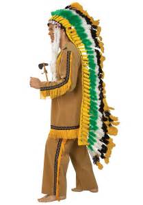 indian headdress halloween costume native american chief full headdress costume indian