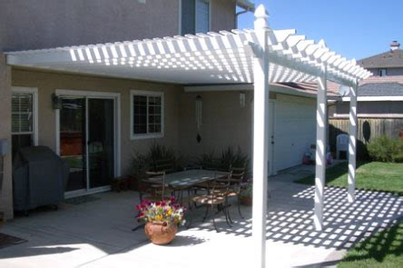 Vinyl Patio Cover Kits by Patio Cover Kits Include Everything Vinyl Patio Kits