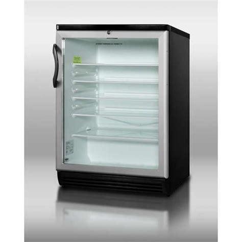 Cheap Summit Undercounter Glass Shelves With Lock Cheap Glass Door Refrigerator