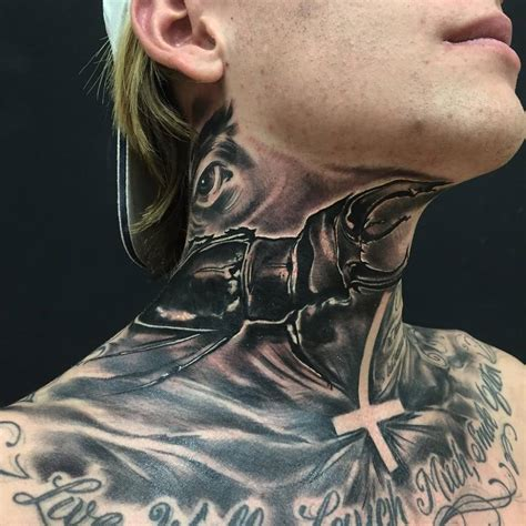 neck tattoo left or right 29 mind blowing beetle tattoo images pictures and photos