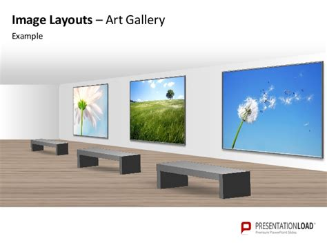 gallery template powerpoint image layouts gallery template
