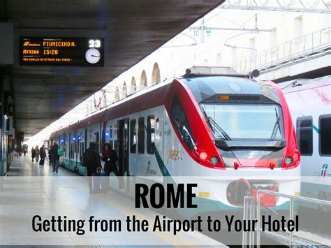 best way to get from fiumicino airport to rome travel rome airport to city centre lifehacked1st