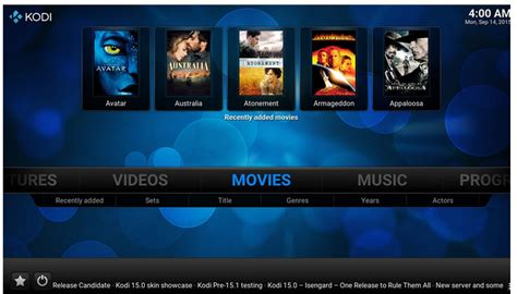android media player features  video  optimized kodi