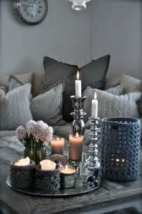 Home Table Decorations by Winter Decor Trend 34 Stylish Silver Accessories And