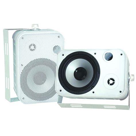 pyle 6 5 in indoor outdoor waterproof speaker pdwr50w