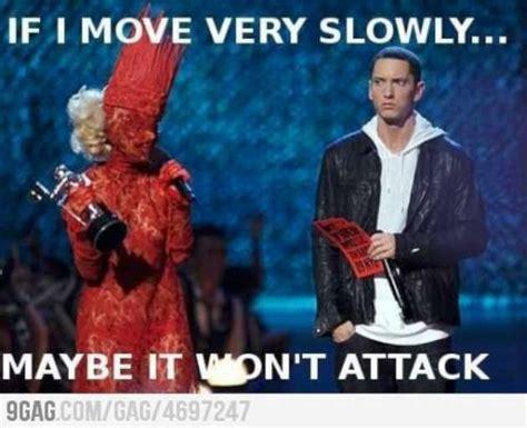Gaga Meme - funny gaga eminem w630