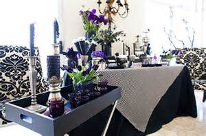 black and purple halloween decorations 40 spooky halloween decorating ideas for your stylish home