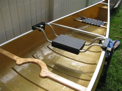 removable canoe seat seat and yoke options nighthawk canoes