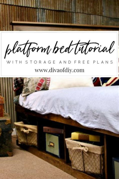 how to make your own platform bed how to make your own diy platform bed with storage