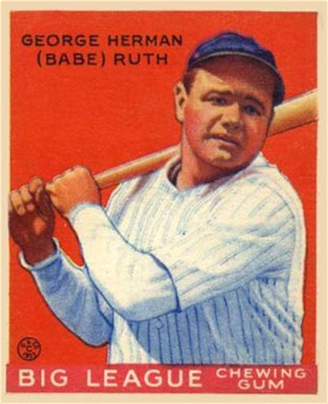 1933 goudey baseball checklist, set info, key cards