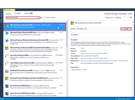 tutorial on web application development asp net mvc tutorial for azure cosmos db web application