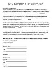 membership agreement template contract template 13 free word pdf documents