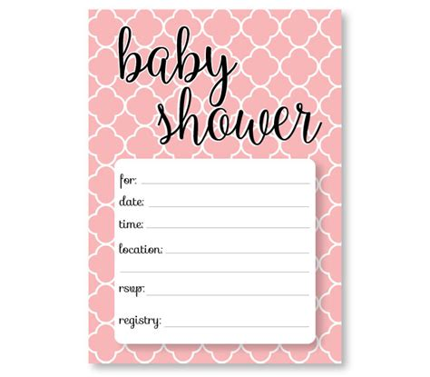 Printable Baby Shower Invitation Templates Free Shower Invitations Baby Shower Downloadable Templates