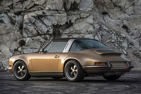 Porsche By Singer by Porsche 911 Targa Reimagined By Singer Hiconsumption