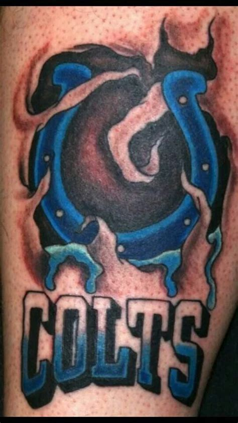 indianapolis colts tattoo designs 1000 images about indianapolis colts tattoos on