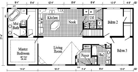 ranch style homes floor plans rockport ranch style modular home pennwest homes model