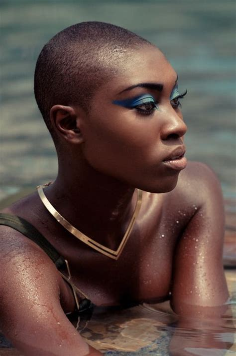beautiful black bald women with leak 73 best beautiful bald women images on pinterest