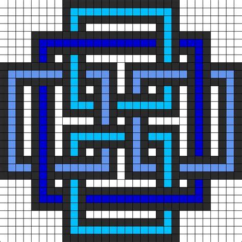 Square pattern perler bead pattern bead sprites simple fuse bead patterns