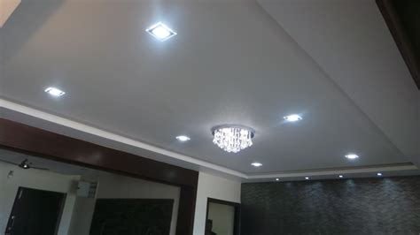 Kitchen Island Top by False Ceiling Interior
