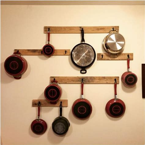 Diy Pot Rack by 12 Diy Pot Rack Projects To Save Space In Your Kitchen Pot Racks
