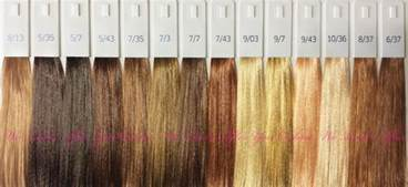 wella illumina color chart wella illumina complete 37 shades developer peroxide